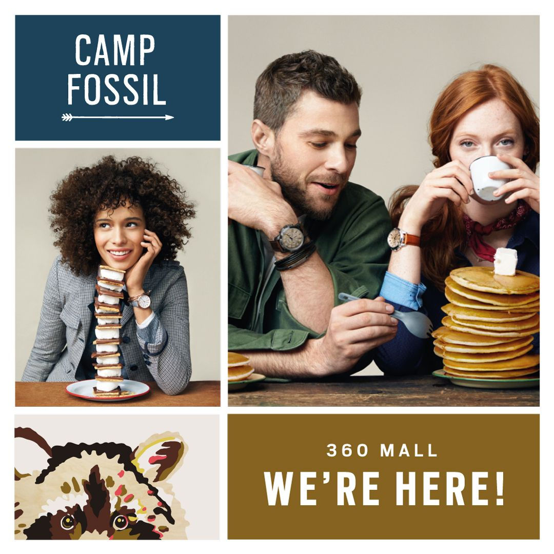 Fossil Launch Event at 360 Mall