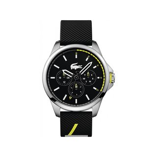 Lacoste Capbreton Men'S Black Multifunction Watch