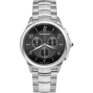 Emporio Armani Swiss Esedra Chrono Quartz Men'S Chronograph Watch