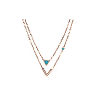 FOSSIL JF02644791 NECKLACE
